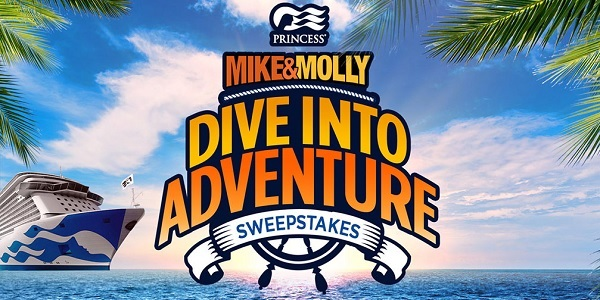 Mike & Molly Princess Cruise Sweepstakes