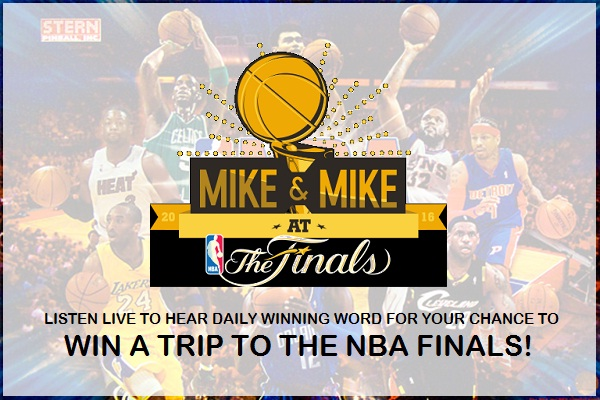 Mike & Mike at the Finals Sweepstakes | SweepstakesBible