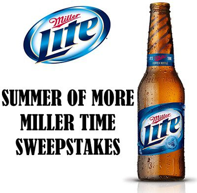 Millerlite.com Summer of More Miller Time Sweepstakes