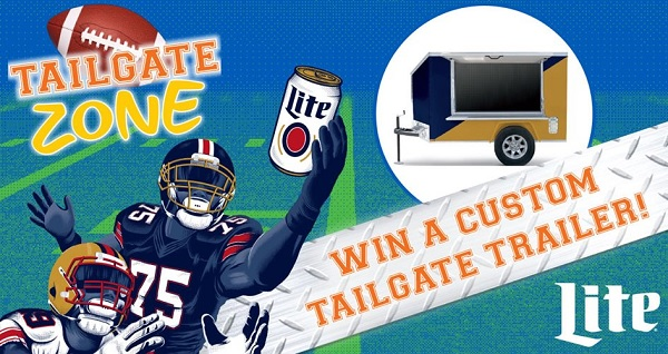 Miller Lite Tailgate Trailer Sweepstakes