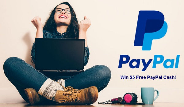 Win Free PayPal Money Instantly!
