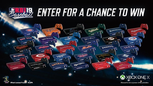 MLB.com R.B.I. Baseball 19 Opening Day Sweepstakes