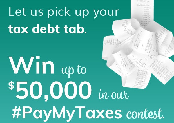 MoneySolver PayMyTaxes Contest: Win $50000 Cash!