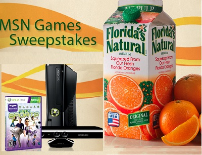 Win daily in MSN Games Sweepstakes