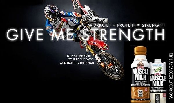 Muscle Milk Ride Like a Motocross Champion Sweepstakes