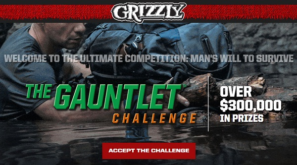 Grizzly Gauntlet Challenge Giveaway