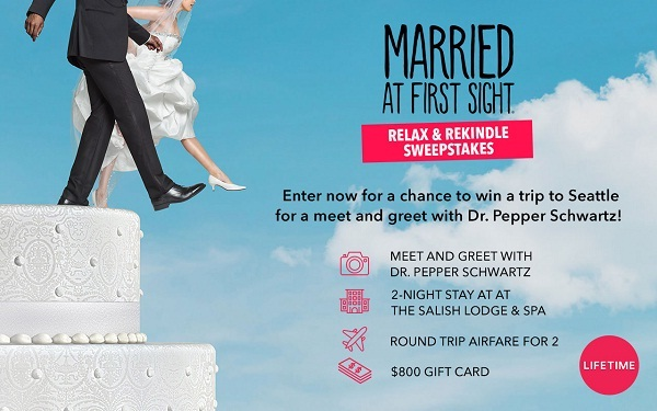 Mylifetime.com Married At First Sight Sweepstakes