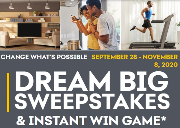 Synchrony Bank Dream Big Sweepstakes