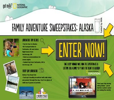 Win a Trip to Alaska in National Geographic Family Adventure Sweepstakes