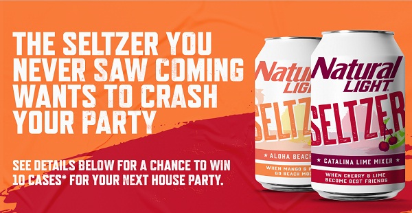 Natural Light Seltzer Sweepstakes