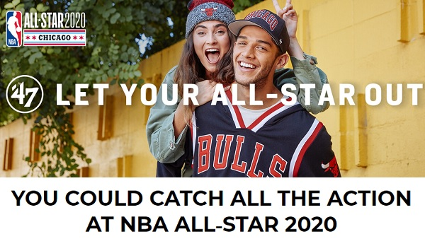 NBA All-Star 2020 Sweepstakes