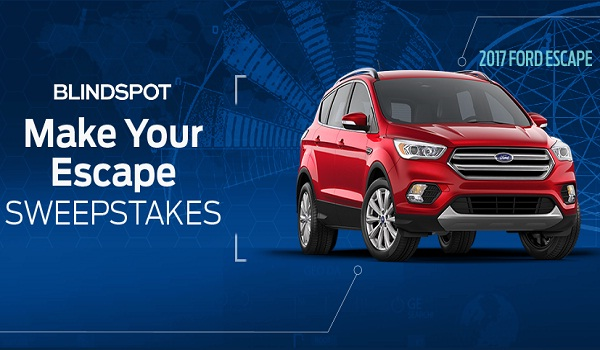 Win A 2017 Ford Escape Through Ford Make Your Escape Sweepstakes
