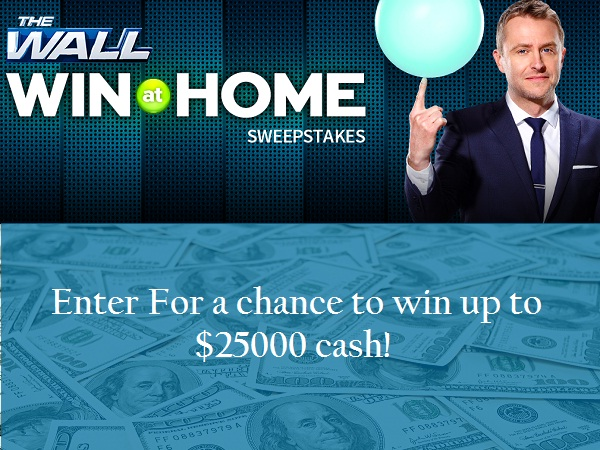 Nbc.com The Wall Win at Home Sweepstakes