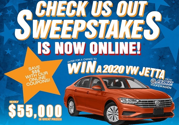 NBC29 Check Us out Sweepstakes: Win $55,000 in Prizes