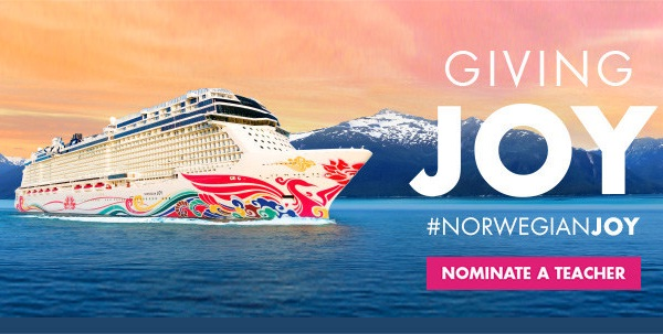 Norwegian Cruise Line Giving Joy Contest 2019 on nclgivingjoy.com
