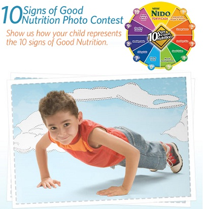 Nestle NIDO: 10 Signs of Good Nutrition Photo Contest