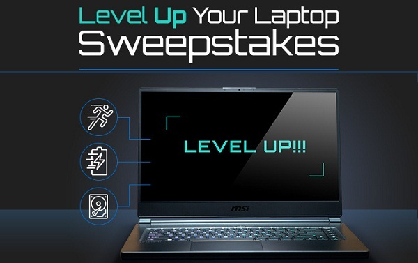 Neweggbusiness.com Level Up Your Laptop Sweepstakes