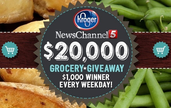 newschannel5 com grocery giveaway