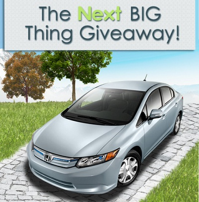Nextag: The Next Big Thing Giveaway 2011
