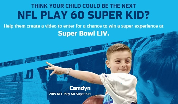 NFL PLAY 60 Super Bowl Contest