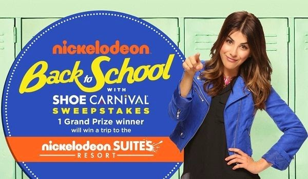 Nick.com Shoe Carnival Back to School Sweepstakes