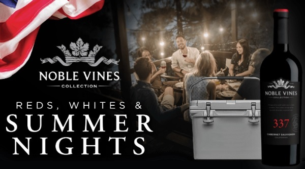 Noble Vines Yeti Cooler Sweepstakes 2020