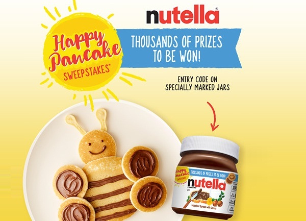 Nutella.com Happy Pancake Instant Win Game