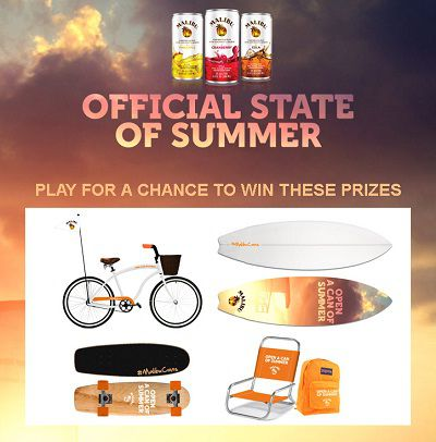 Official State of Summer Sweepstakes
