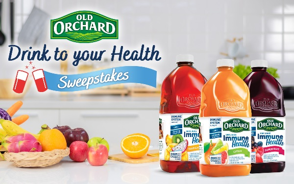 Old Orchard Drink to Your Health Sweepstakes 2021