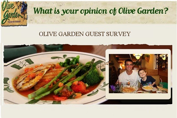 Olive Garden Survey Sweepstakes 2020