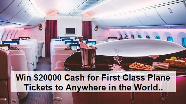 Omaze Sweepstakes 2020: Win First Class Tickets