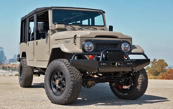 Omaze Custom ICON Toyota Land Cruiser Giveaway
