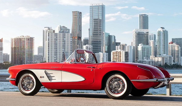 Omaze.com 1959 Chevrolet Corvette Convertible Sweepstakes