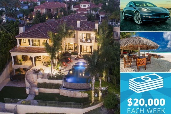 Omaze.com Dream House Sweepstakes