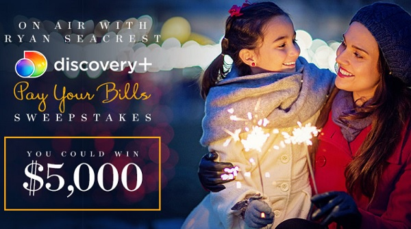 Ryan Seacrest's Pay Your Bills Sweepstakes 2021