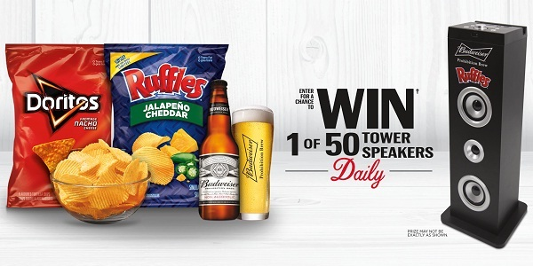 Ruffles And Budweiser Sweepstakes 2019