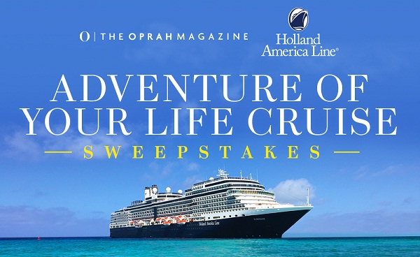 Oprah.com Adventure of Your Life Paradise Cruise Sweepstakes