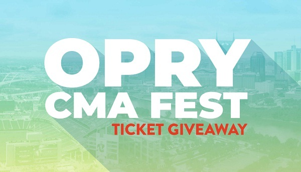 Opry.com CMA Fest Ticket Giveaway