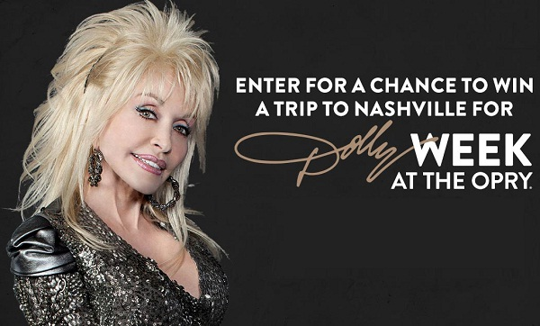 Grand Ole Opry Dolly Parton Week Sweepstakes