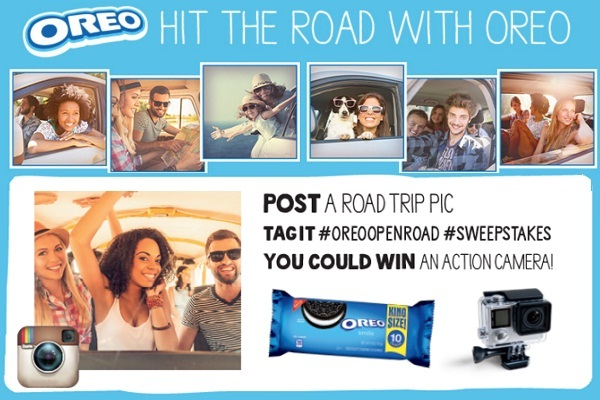 Discover the Open Road with Oreo Sweepstakes