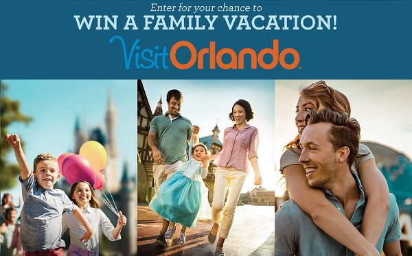 Orlando Family Vacation Sweepstakes