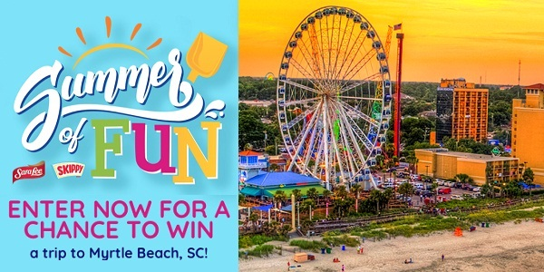 Win a Beach Summer Getaway on Oursummeroffun.com