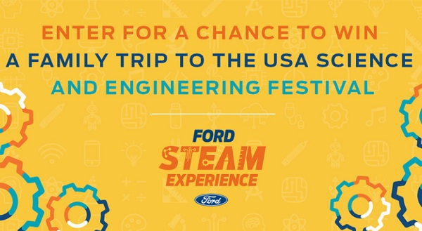 Parents Magazine Ford Steam Experience Sweepstakes