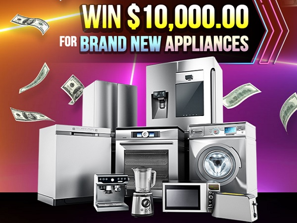 PCH.com $10k New Appliances Sweepstakes