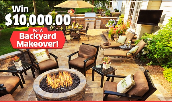 PCH Backyard Makeover Giveaway No: 12655: Win $10,000 Cash