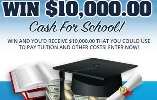 PCH.com $10000 Cash for School Giveaway