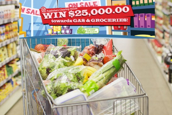 PCH Com $25000 Gas Groceries Giveaway No 10074 | SweepstakesBible