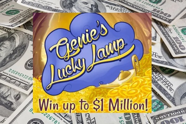 PCH Genie's lucky lamp Sweepstakes: Win $1 Million