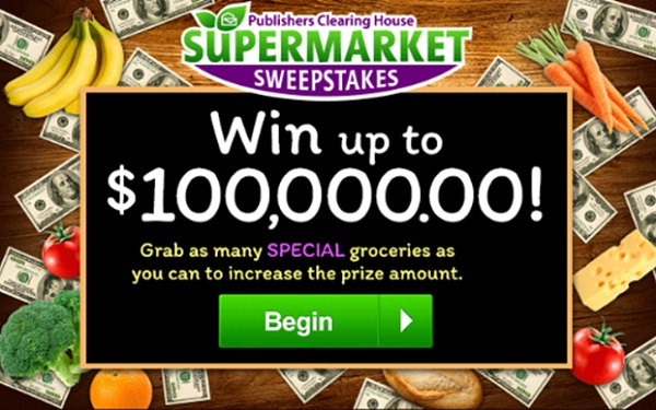 Pch com Supermaket Sweepstakes Giveaway No  18000 | SweepstakesBible