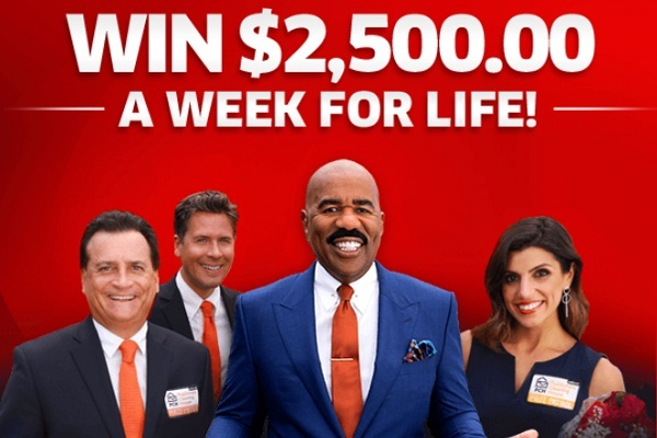 PCH.com $5000 A-Week-For-Life SuperPrize Giveaway